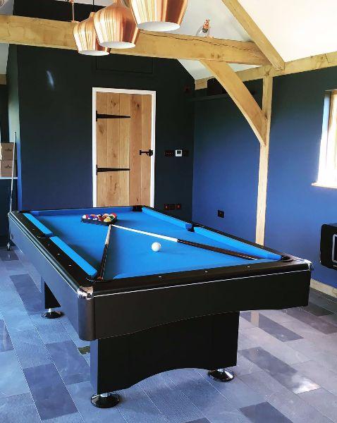 Ft Buffalo Eliminator II Pool Table In Black SAM Leisure - Eliminator pool table