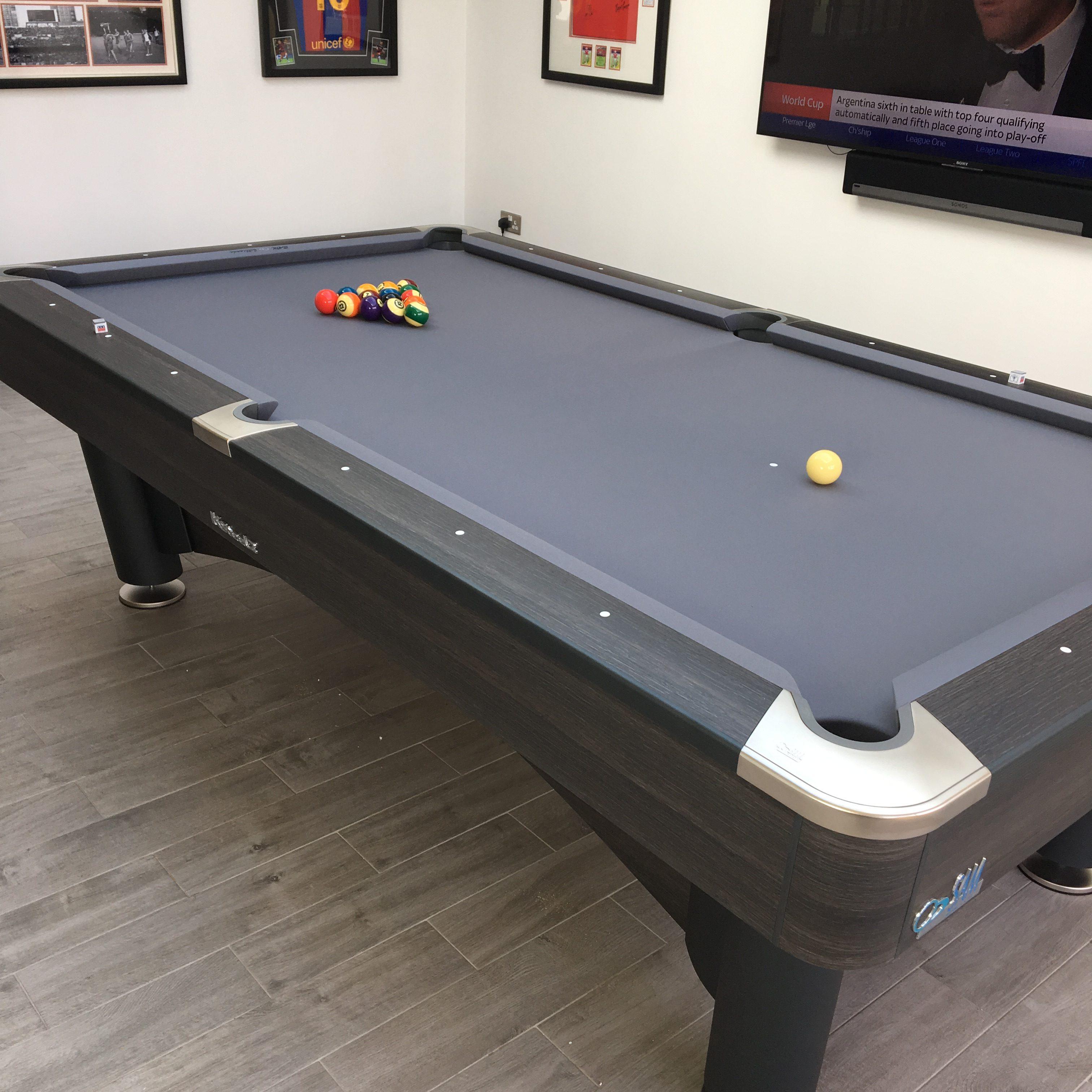 K Steel Mark II 9ft Pool Table