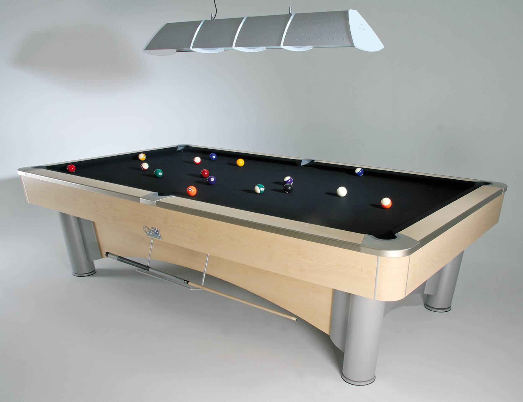 K Steel Mark II 9ft Pool Table SAM Leisure