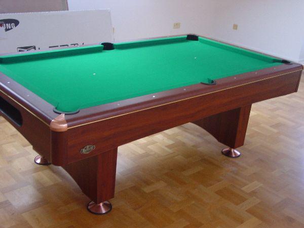 Ft Buffalo Eliminator II Pool Table In Walnut SAM Leisure - Eliminator pool table