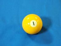 ARAMITH AMERICAN POOL BALL 57.2MM No 01