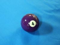 ARAMITH AMERICAN POOL BALL 57.2MM No 04