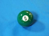 ARAMITH POOL BALL 57.2MM NUMBER 6
