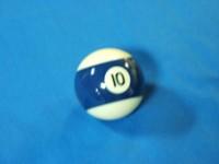 ARAMITH AMERICAN POOL BALL 57.2MM No 10
