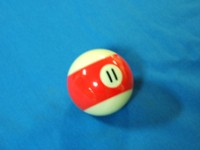 ARAMITH AMERICAN POOL BALL 57.2MM No 11