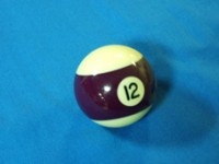ARAMITH AMERICAN POOL BALL 57.2MM No 12