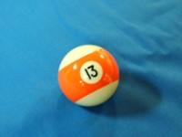 ARAMITH AMERICAN POOL BALL 57.2MM No 13