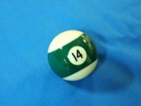 ARAMITH AMERICAN POOL BALL 57.2MM No 14