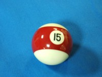 ARAMITH AMERICAN POOL BALL 57.2MM No 15