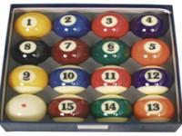 AMERICAN POOL BALL SET SUPER ARAMITH PRO 57mm