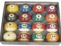 ARAMITH GRANITE STONE EFFECT POOL BALL SET 57MM