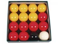 "ARAMITH PREMIER RED & YELLOW POOL BALL S 57MM (2-1/4"")"