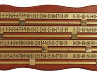 Snooker Scoreboard for 4