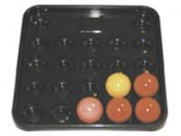 Snooker Ball Tray for 22 Balls