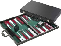 Backgammon case, 46 x 30cm inlaid