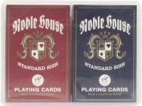 Noble House piatnic playing cards double