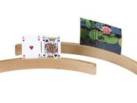 CARD HOLDER WOOD 35CM