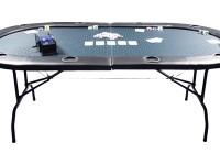 "Buffalo poker table ""Gambler"" 210cm x 105cm, 73cm high Folding table & folding legs!"