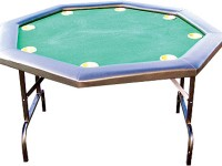 "Buffalo poker table ""Octagon"" 120cm, 8 players Folding legs!"