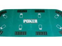 "Buffalo poker top ""Texas"" 4 folded, 180x90cm"