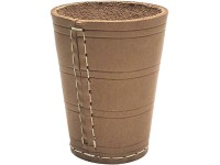 Dice cup leather, height 10cm, 8cm