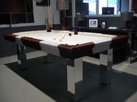 PINTO 7′ English Pool Table in Cowskin