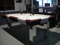 PINTO 3/4 Snooker Table in Cowskin