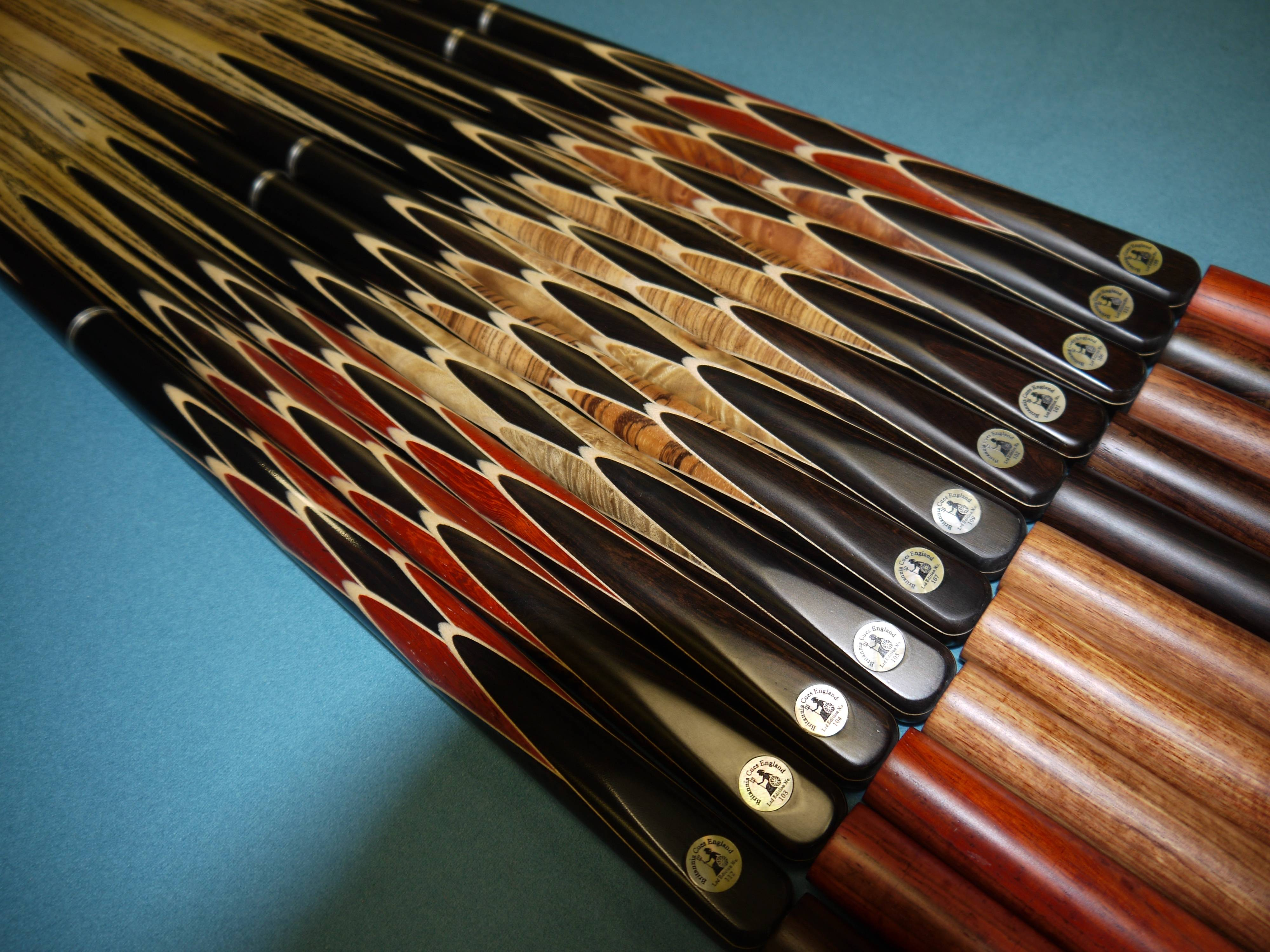 Limited edition britannia steel cues sam leisure for Pool cues design your own