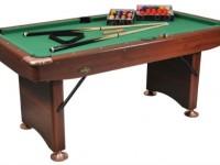 BUFFALO CHALLENGER 6FT FOLDING LEG POOL TABLE  With 2″ Balls
