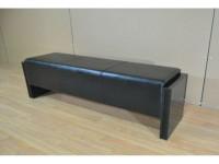 BENCH SEAT – HIGH GLOSS BLACK 140cm