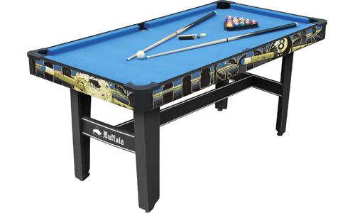 Buffalo 5ft pool table hustler rookie sam leisure for 10 feet pool table