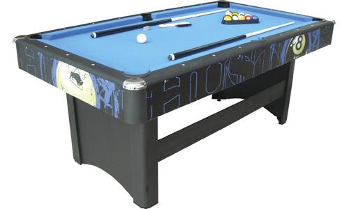 Hustler pool table