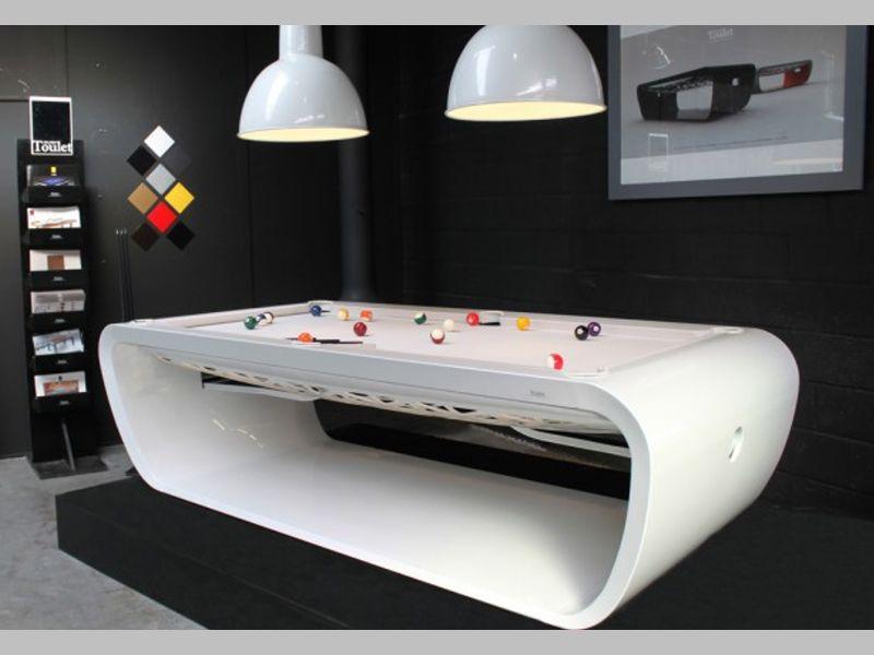 Blacklight Designer Pool Table - SAM Leisure