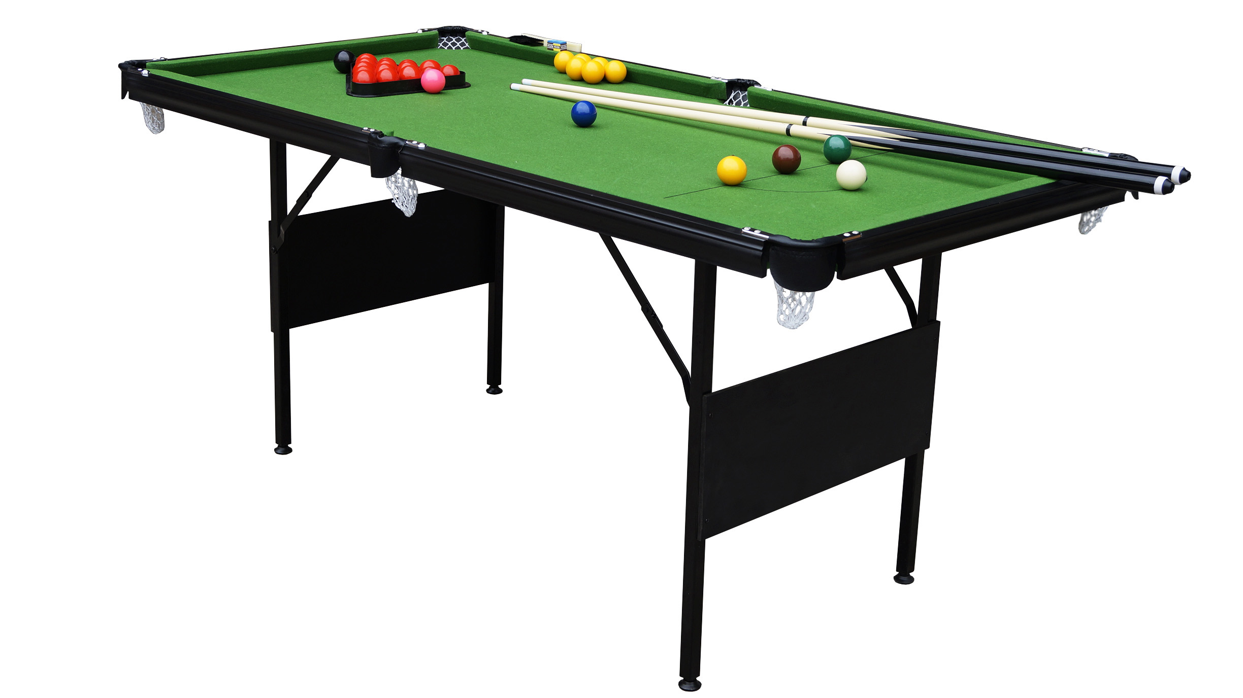 Sam foldaway snooker table pool table 6ft sam leisure for 10 pool table